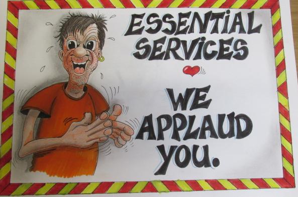 We applaud you