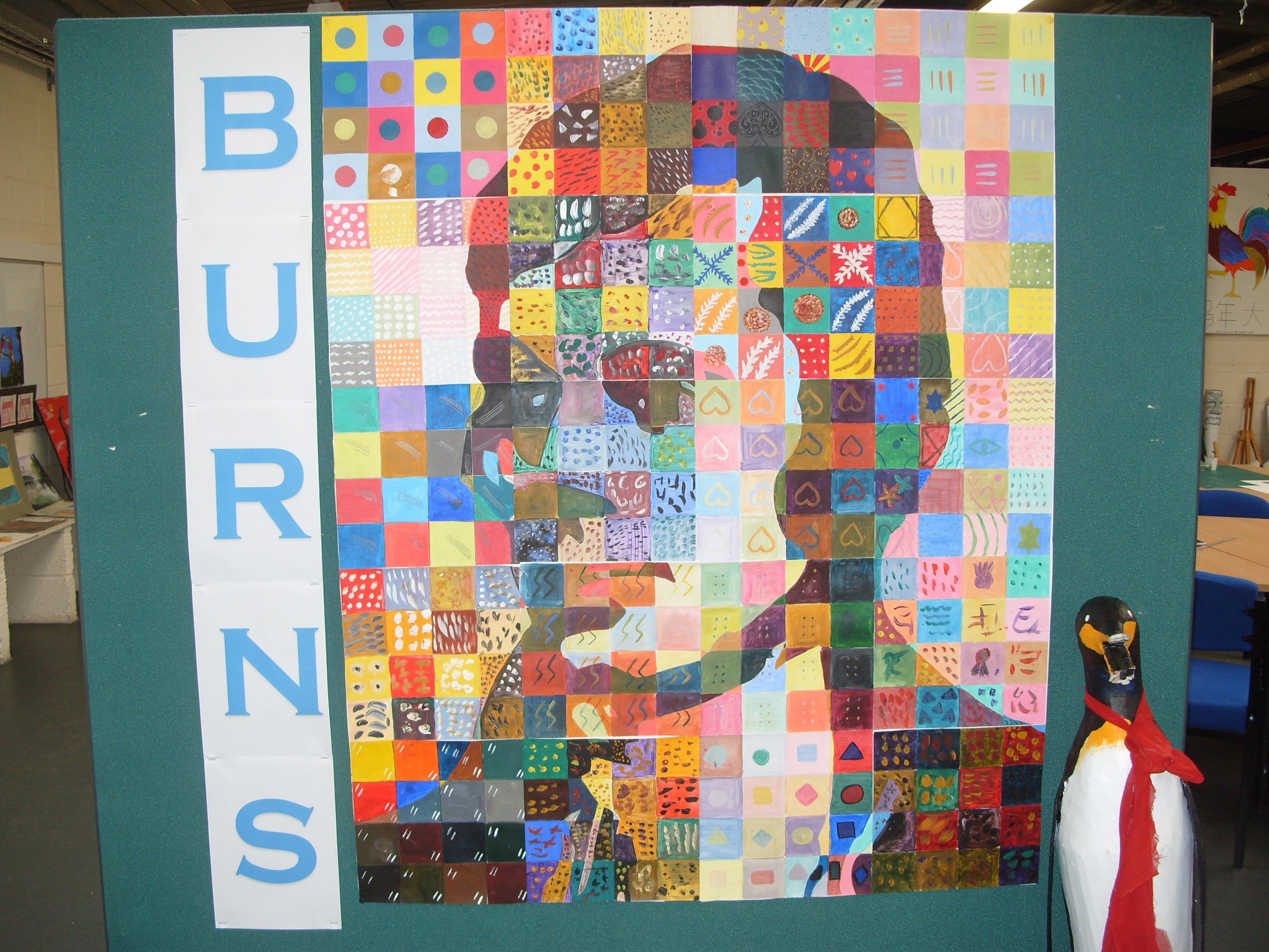 burns award
