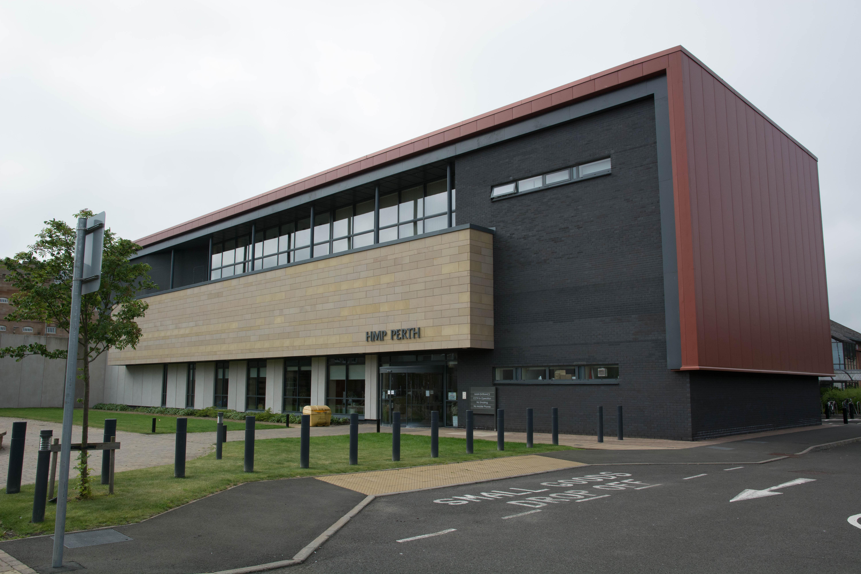 A prisoner at HMP Perth has died.